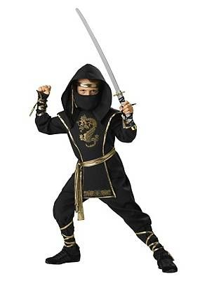 Ninja Krieger Kinderkostüm