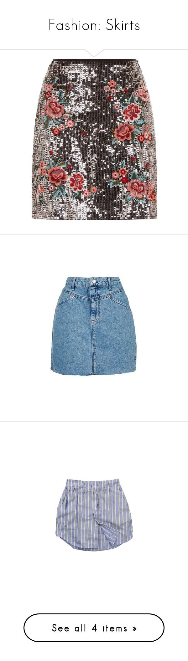 """""""Fashion: Skirts"""" by pecanutje ❤ liked on Polyvore featuring skirts, clearance, silver, sequin a line skirt, knee length a line skirt, going out skirts, a line skirt, party skirts, mini skirts and bottoms"""