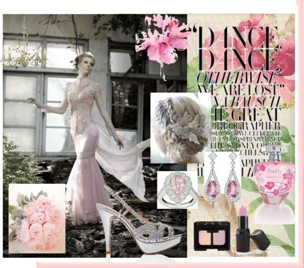 """""""Pink Romance"""" by kpalle on Polyvore"""