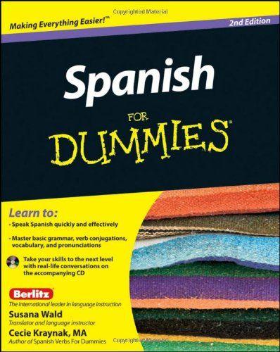 Bestseller Books Online Spanish For Dummies Susana Wald, Kraynak $14.64 - http://www.ebooknetworking.net/books_detail-047087855X.html