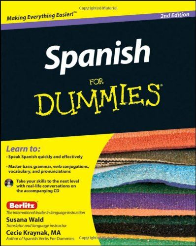Bestseller Books Online Spanish For Dummies Susana Wald, Kraynak $14.64  - http://www.ebooknetworking.net/books_detail-047087855X.html