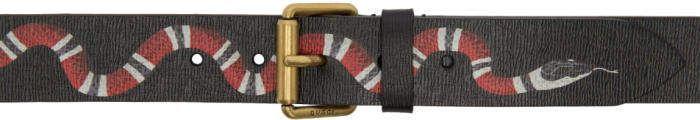Gucci Black Snake Belt #gucci #belt #menswear #black