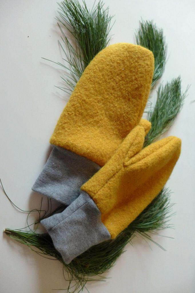 Handschuhe für Groß und Klein nähen – mit Link zum Schnittmuster