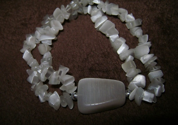 SALE Beautiful stone plus size jewelry in by SkyAccessoryBoutique, $10.00