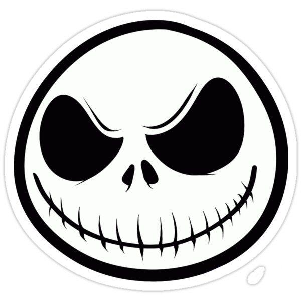 Jack Skellington Tee Sticker By Cara Ford In 2021 Jack Nightmare Before Christmas Nightmare Before Christmas Pumpkin Jack Skellington Tattoo
