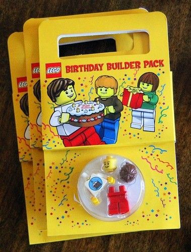 Amazon.com: LEGO Set #852998 Birthday Party Kit Materials for 10 Guests!: Toys & Games