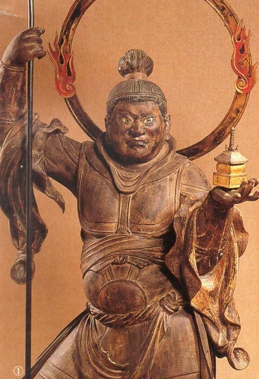 神奈川・浄楽寺/毘沙門天立像