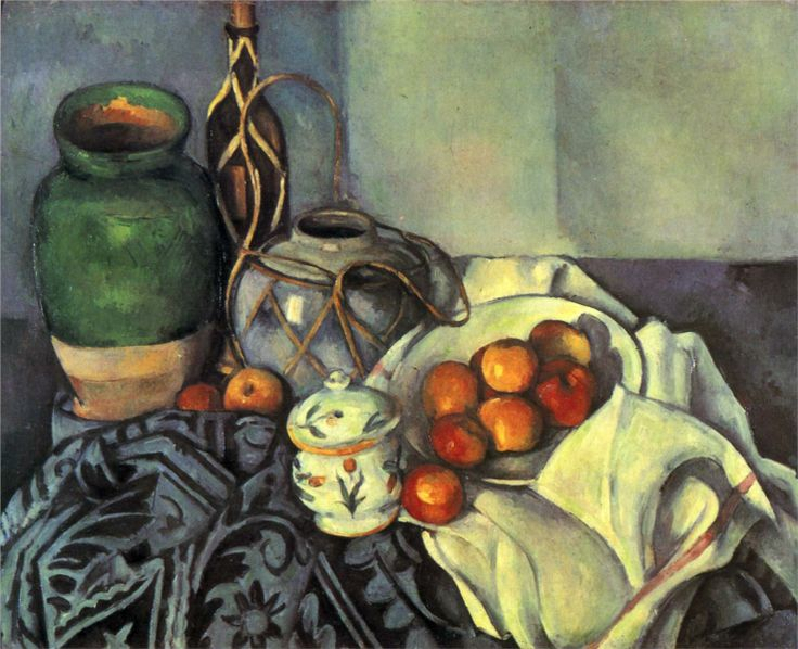 Still Life with Apples, 1894, Paul Cezanne