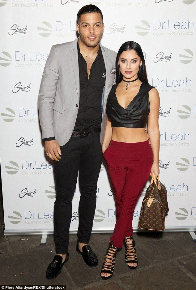 Still on the love island? Love Island runners-up Luis Morrison and girlfriend Cally Jane B...