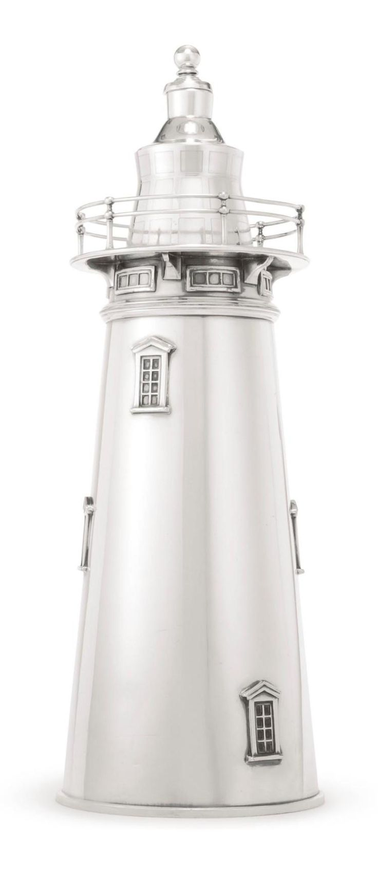 INTERNATIONAL SILVER CO. | Lighthouse Silver Plated Cocktail Shaker.