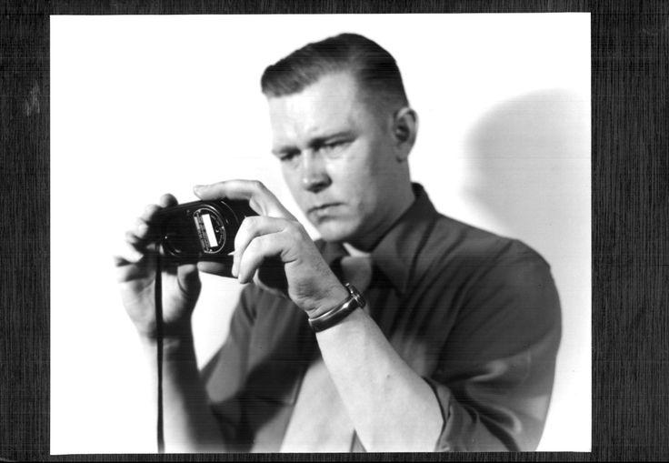 N.J. Zubko with light meter