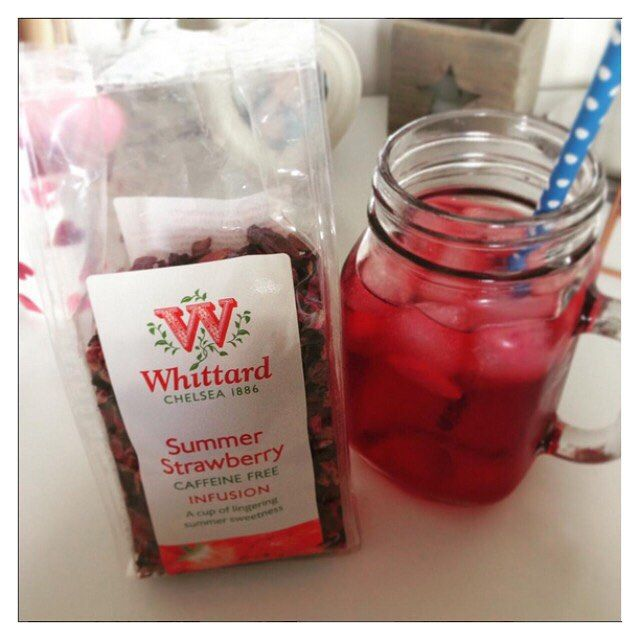 @Kay993 added a dash of peach syrup to our Summer Strawberry fruit infusion to create a delicious iced tea - we love the top tip and will be trying this recipe ourselves. Will you? If you've created a tasty Whittard brew and share it on Instagram, use #Whittard and we'll take a look.