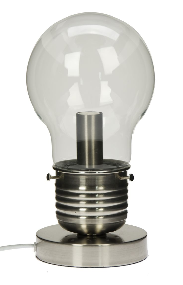 Lightbulb lamp, £29.99.