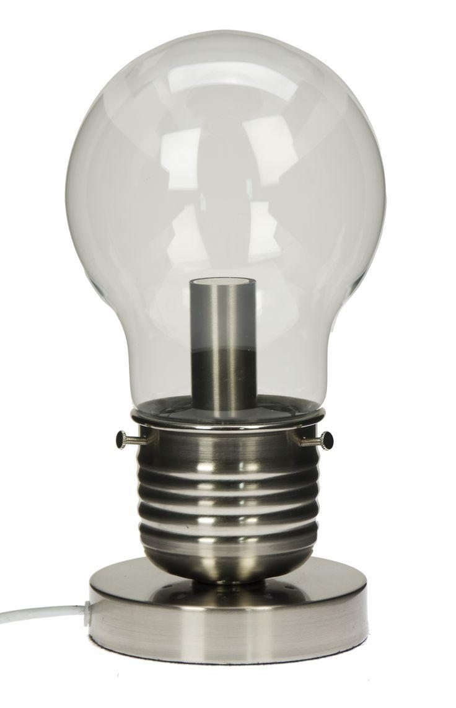 Lightbulb lamp, £29.99.
