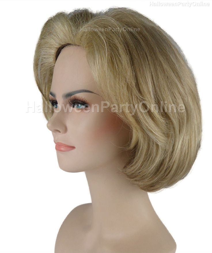 Halloween Party Costume Hillary Clinton II Wig Presidential Election 2016 HW-246