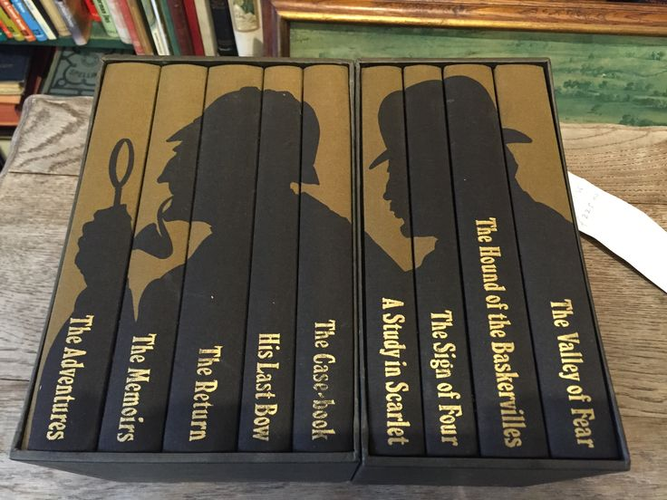 The folio society box set of Arthur Conan Doyle's complete Sherlock Holmes stories #ConanDoyle  #SherlockHolmes