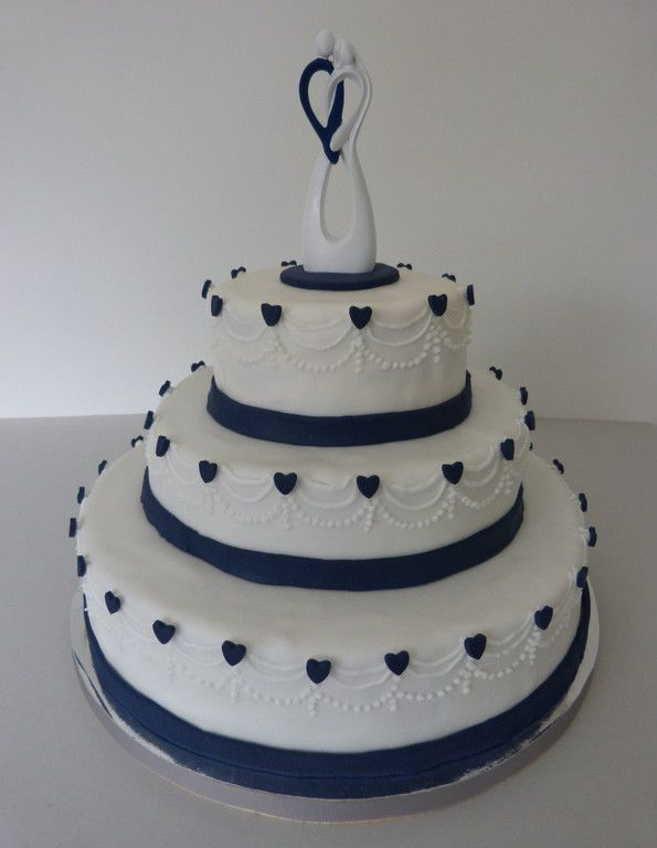 Herzen, blau, Hochzeitstorten, Hochzeitskuchen, Brautpaare, wedding ...