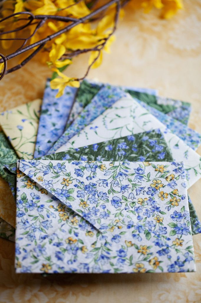 handcrafted fabric envelopes - Celebrate Creativity                                                                                                                                                                                 More