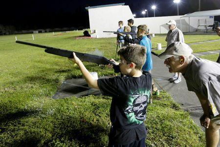 'It's a lifestyle': Teens at Florida shooting club defend guns