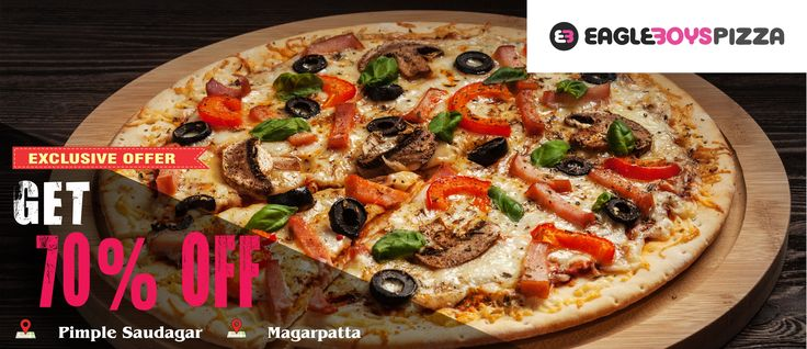 FREE PIZZA? Well almost. Get #70%discount on Eagle Boyz Pizza, order now on zaykedaar.com!