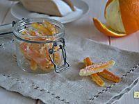 Scorze di arance candite, ricetta facile