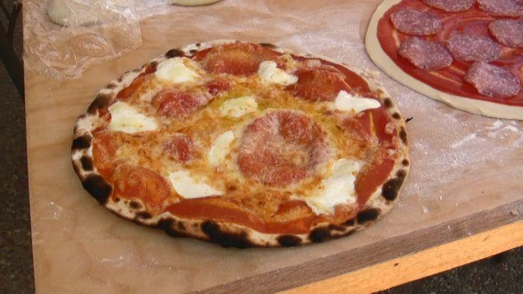 Pizza senza lievito in meno di un'ora