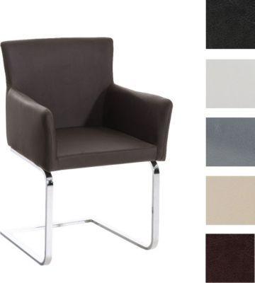 Freischwinger Stuhl PIRUS Mit Armlehne, Gepolstert, Modern, Sitzhöhe 49 Cm  Jetzt Bestellen Idea