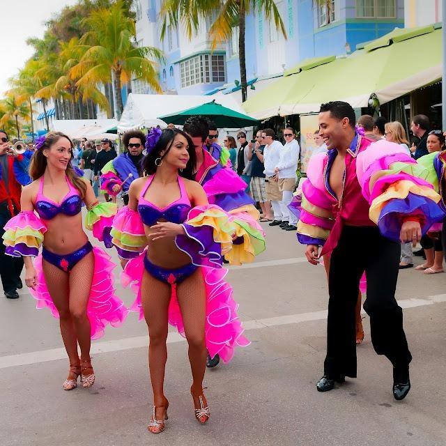 South beach miami dance party nikki beach