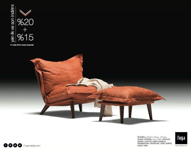 Tüm ürünlerde yılın ilk ve son indirimi için mağazalarımıza bekliyoruz!   www.fugamobilya.com
