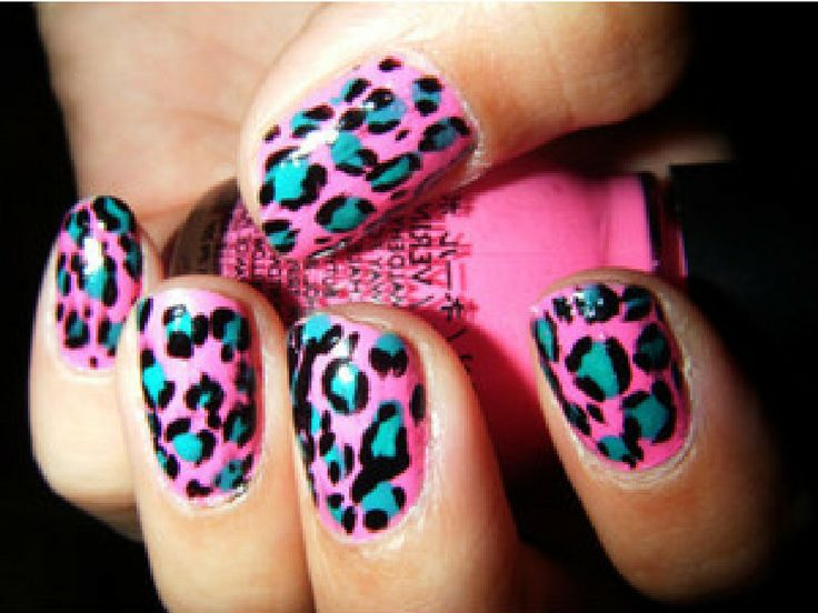 Animal Print Nail Designs | you some cool designs with animal prints try one of these designs and ...