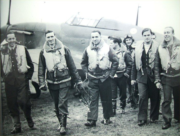 British RAF Spitfire Pilots during the Battle of Britain
