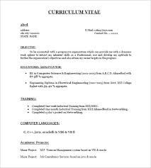 Image Result For Resume Format For Fresher Pertaining To Resume For Freshers