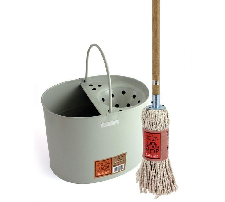 Buy English Heritage Cotton Mop and Bucket Set at Argos.co.uk, visit Argos.co.uk to shop online for Mops, Floorcare, Home and garden