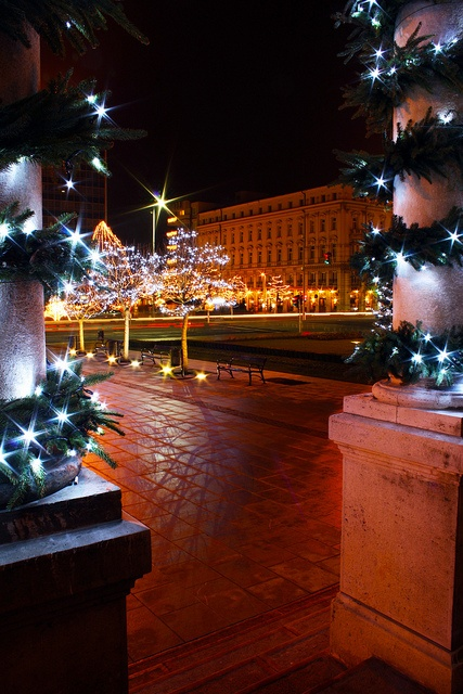 Christmas in Gyor, Hungary