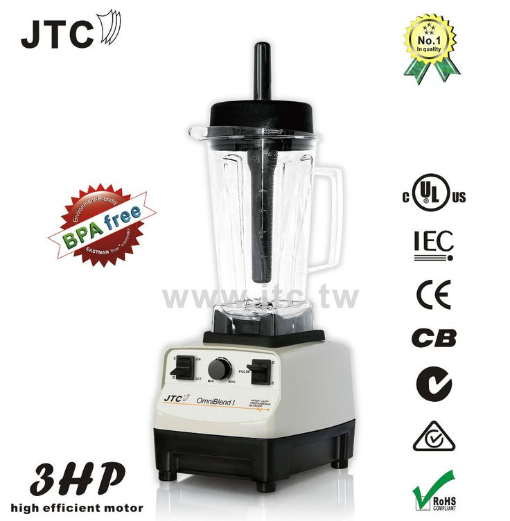Commercial Blender— with BPA free jar Premium quality, Transparent, Virtually Unbreakable BPA free Eastman Tritan Container Precision technology PACKAGE Packing: 1pc/gift box/34x24x28CM, with Outer Carton Protection Gross Weight: 5.5kgs SPARE PARTS