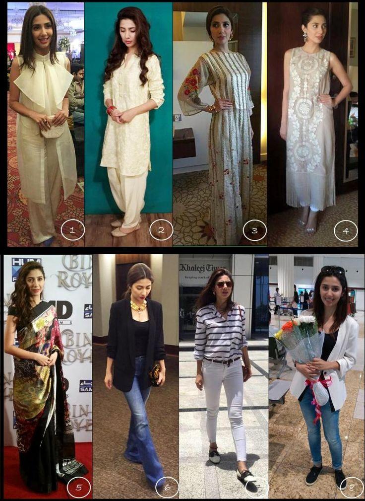 Fashion Round-up: Mahira Khan during Bin Roye promotions | PINKVILLA
