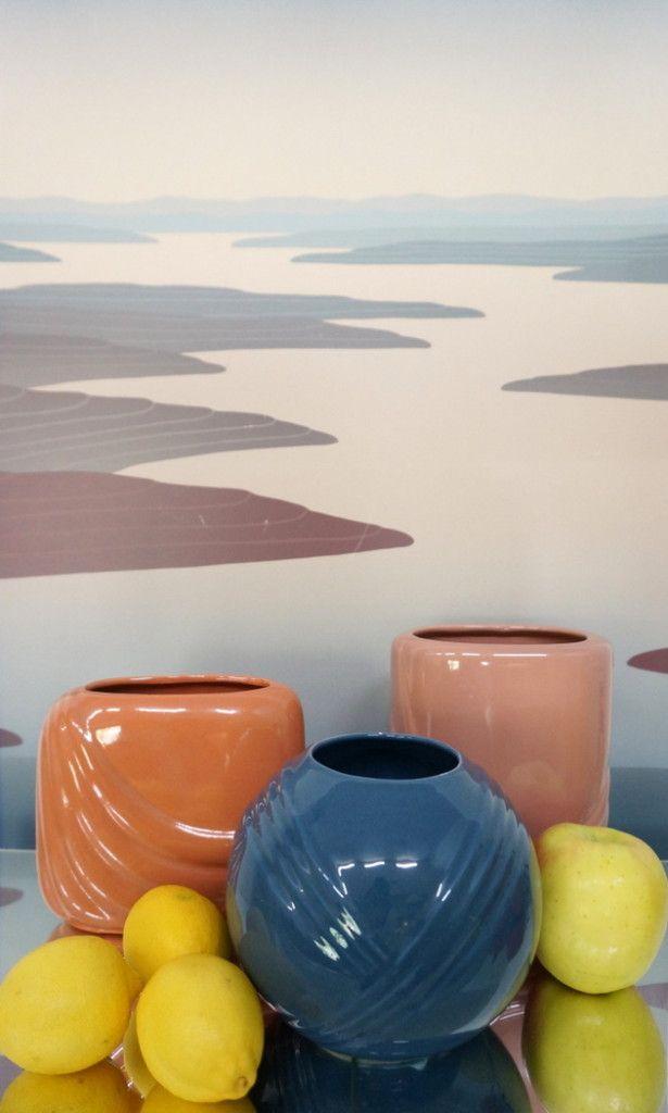 '80s Deco vases and fresh produce | Mirror80