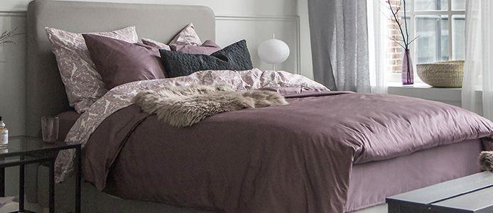 Een luxe bed met boxspring matras