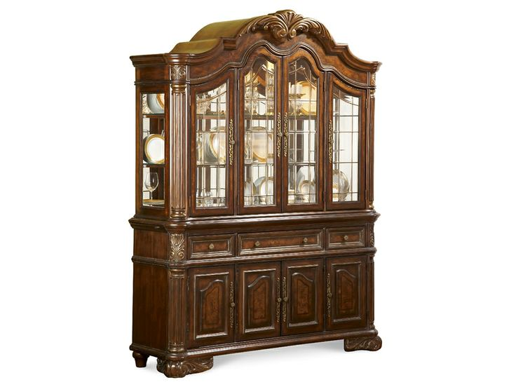 Art furniture dining room hutch 142246 2606 the village for Furniture yakima