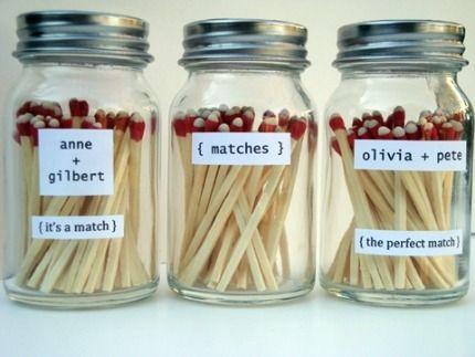 35 best Wedding Matchboxes images on Pinterest   Wedding matches ...
