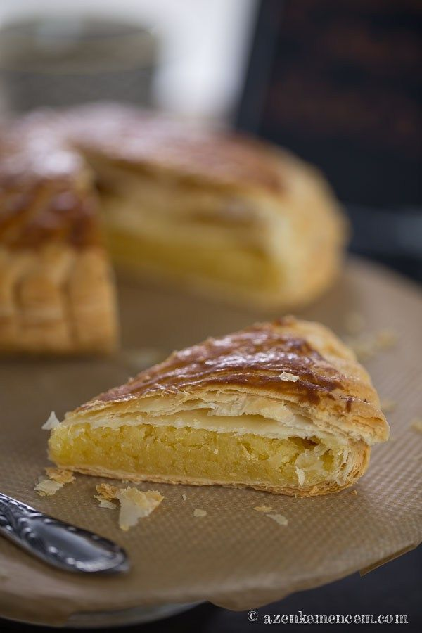Királyok tortája - leveles tészta és frangipán krém