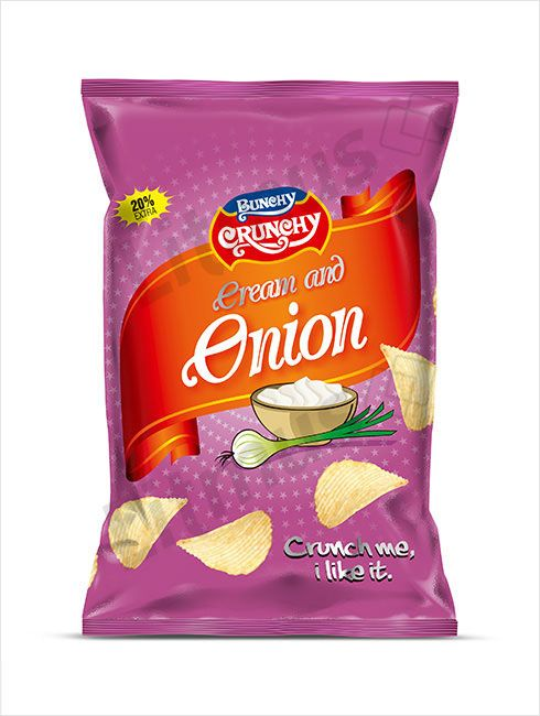 Snacks Packaging Design by Litmus Branding #packaging #fmcg #chips #onion