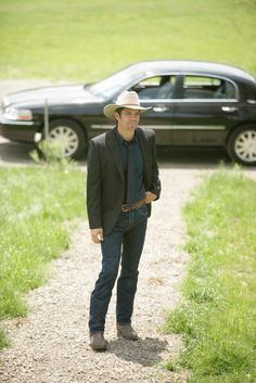 I like that guy's style - Raylan Givens - Justified TV series
