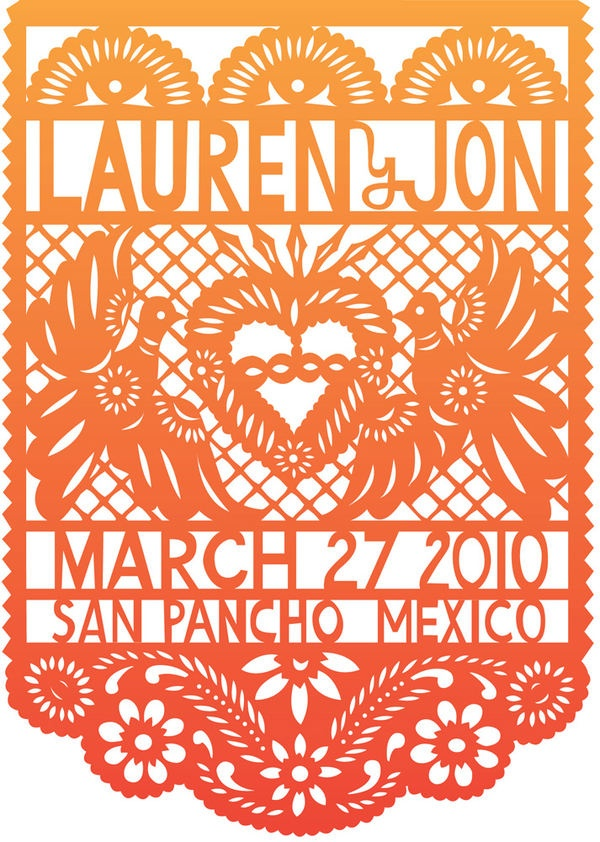cool, mexican save the date inspiration