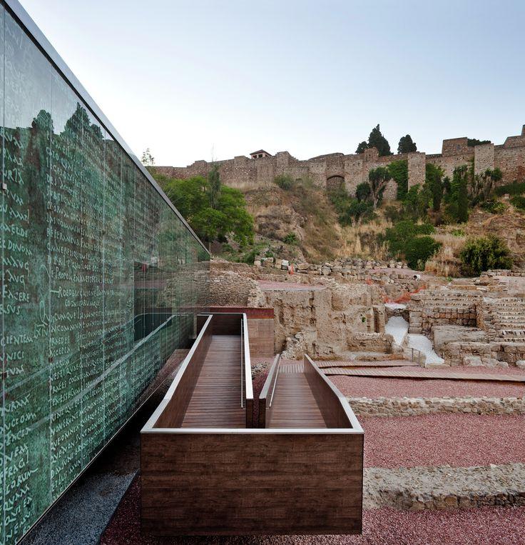 Visitor Center of the Roman Theatre of Malaga / Tejedor Linares & asociados