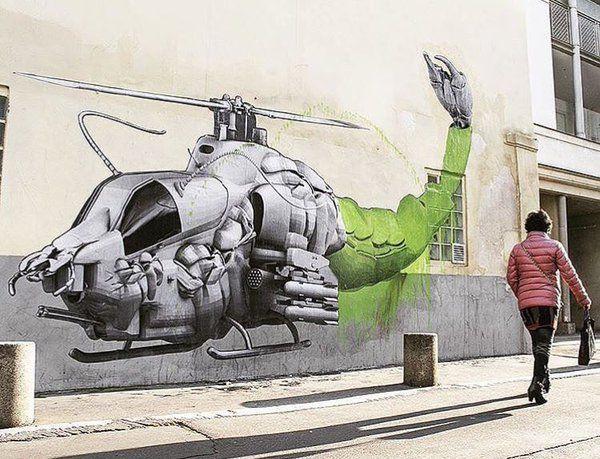 Street art by Ludo in Paris, via Street Art (@GoogleStreetArt) | Twitter