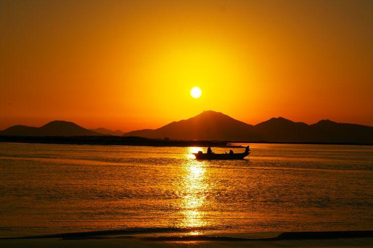 Sunset of Dadae beach