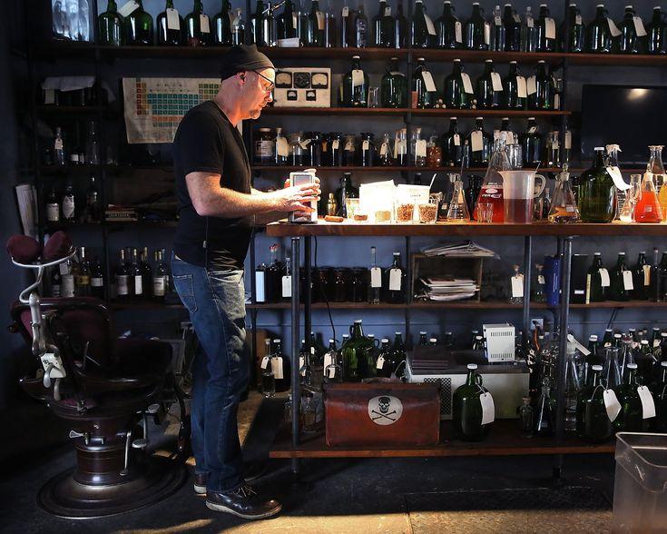 Lance Winters Master distiller St. George Spirits
