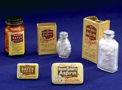 On this day in 1899, the Imperial Patent Office in Berlin registers Aspirin, the brand name for acetylsalicylic acid, on behalf of the German pharmaceutical company Friedrich Bayer & Co.