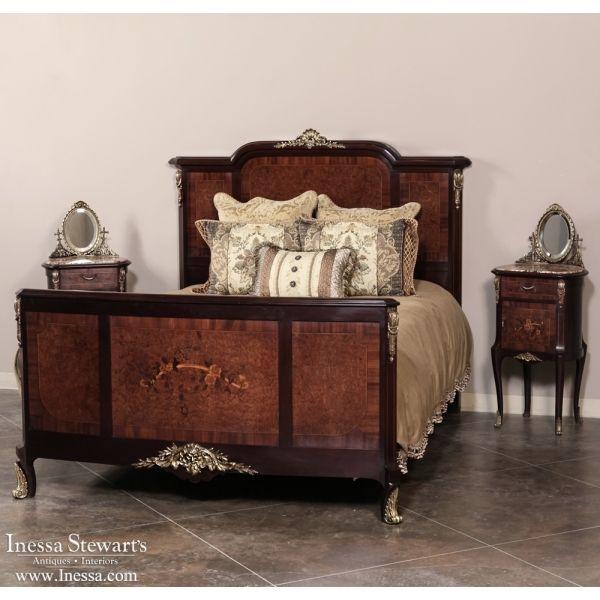 988 best antique bedroom furniture beds images on for Antique bedroom sets